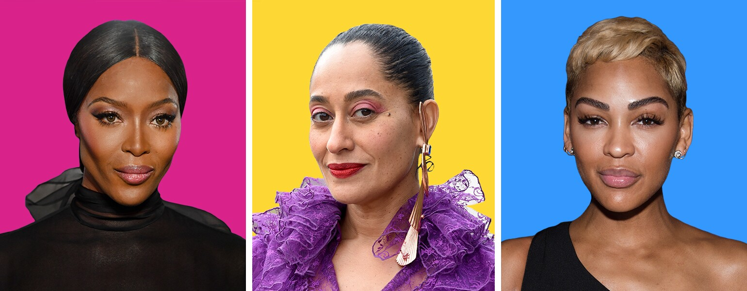 brows image of naomi campbell, tracee ellis ross and meagan good