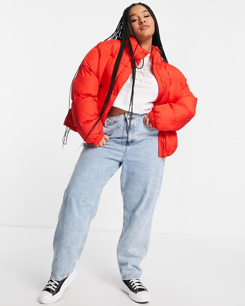 ASOS_ASOS DESIGN Curve oversized recycled puffer jacket in red.jpg