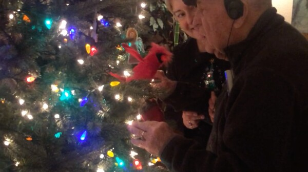 Amy Goyer describes the joy of unexpected Christmas connection with her Dad who has Alzheimer's disease.