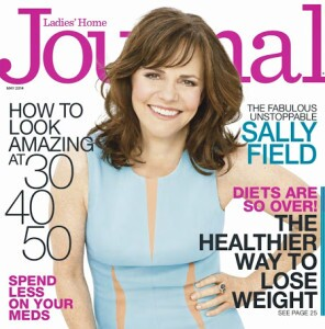 Ladies' Home Journal Cover with Sally Field