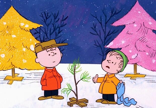 Peanuts - Charlie Brown and Linus
