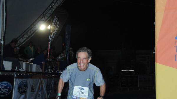 Eric Spector, Ironman Finish