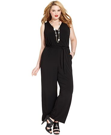 Macy's Jumpsuit plus size