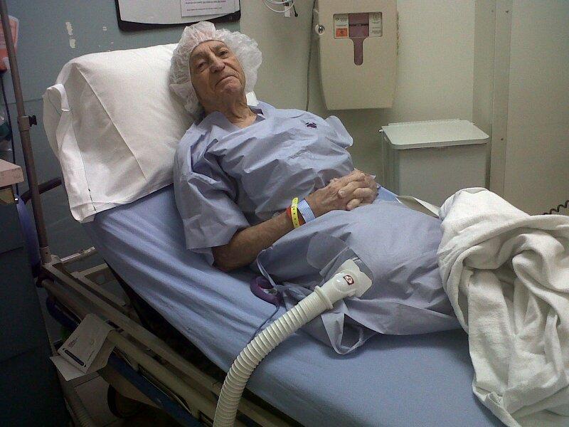Dad - throat surgery