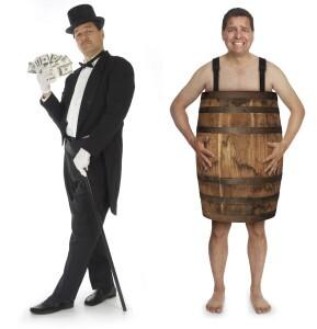 Dating rich vs. poor men