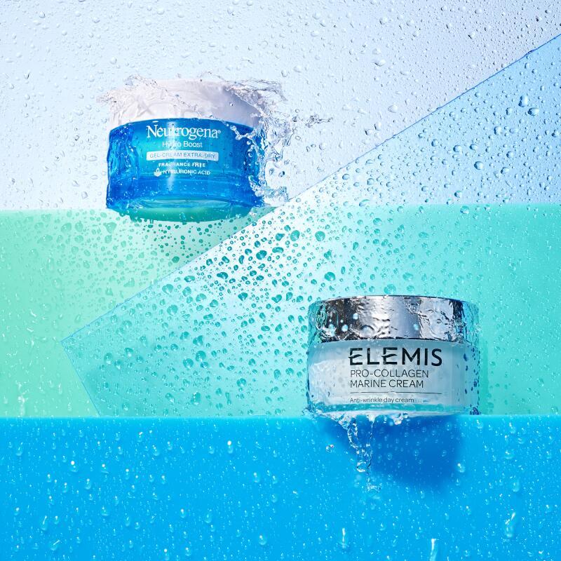 Neutrogena Hydro Boost Gel Cream and Elemis Pro-Collagen Marine Cream
