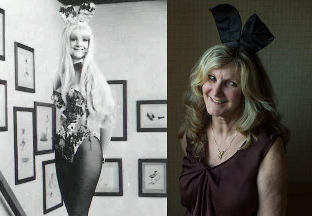 Marsha Callender Attends a 25th Anniversary Playboy Bunny Reunio