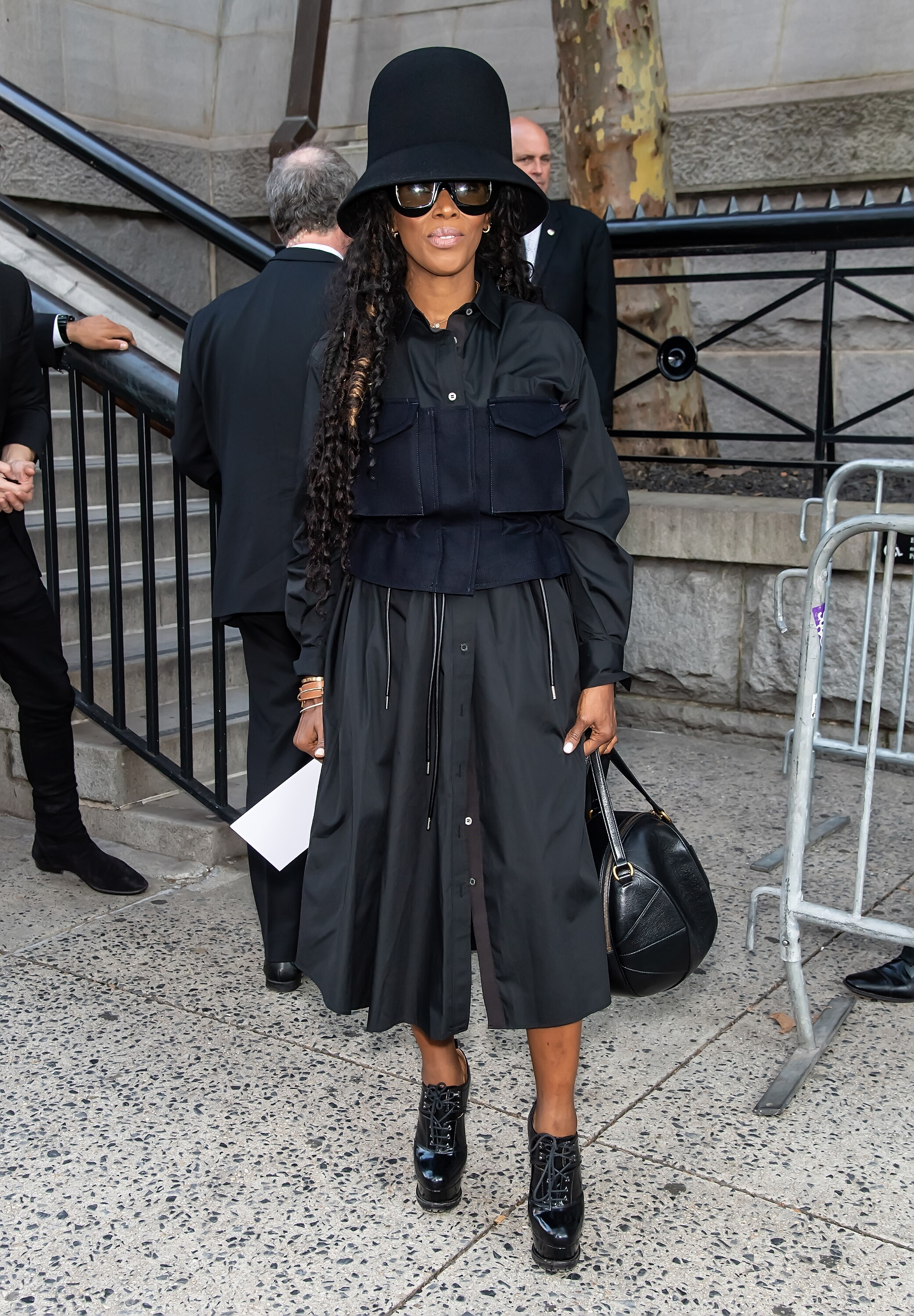 Celebrity Sightings In New York City - September 11, 2019