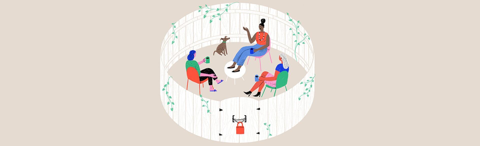illustration_of_friends_sitting_inside_a_fenced_circle_by_monica_garwood_1440x400.jpg