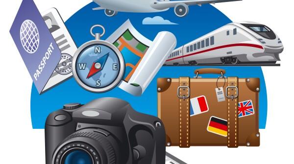 tourism concept icon