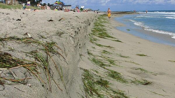 Beach erosion versageek