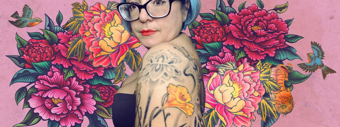 image_of_lady_showing_her_arm_tattoo_with_illustration_of_tattoo_in_background_by_michelle_thompson_1440x560