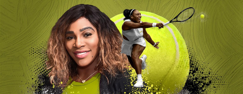 Serena Williams photo illustration