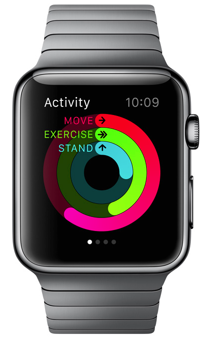 Apple Watch, Tells Time, Health Apps