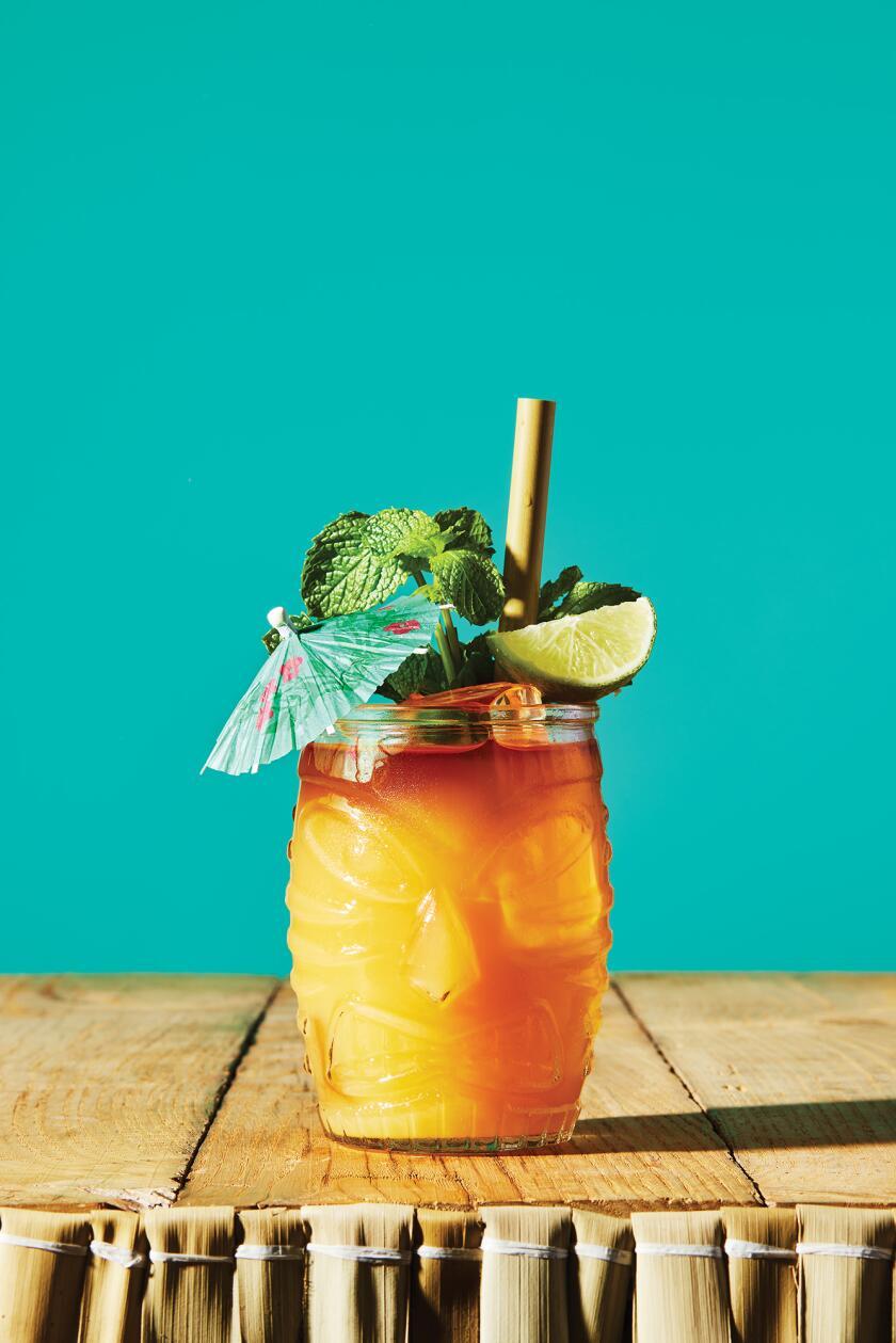 Tropical Cocktails For Your Backyard - Mai Tai