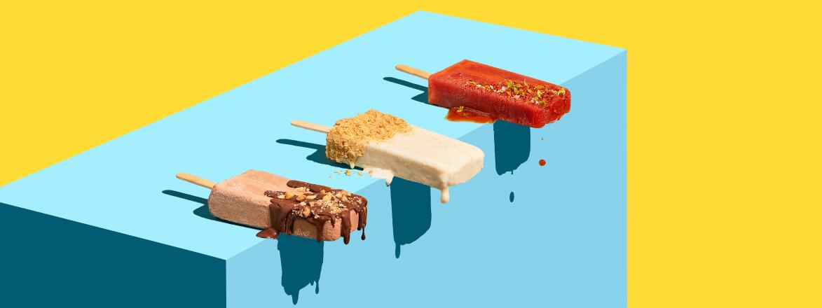 3 Popsicles Mudslide, Key Lime, Bloody Mary.