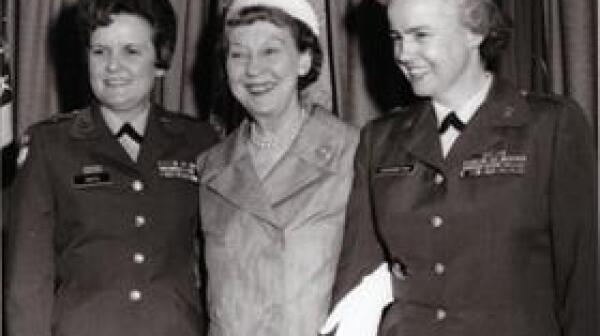 Anna Mae Hays and Elizabeth P. Hoisington