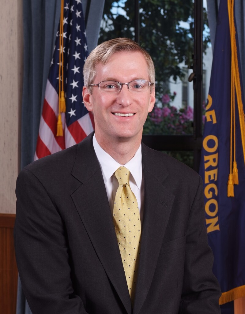 Oregon State Treasurer Ted Wheeler