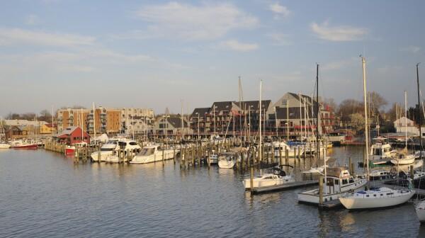 Marina at Annapolis, Maryland, USA