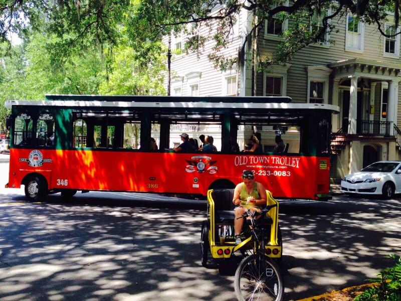 Savannah Old Town Trolley Tour