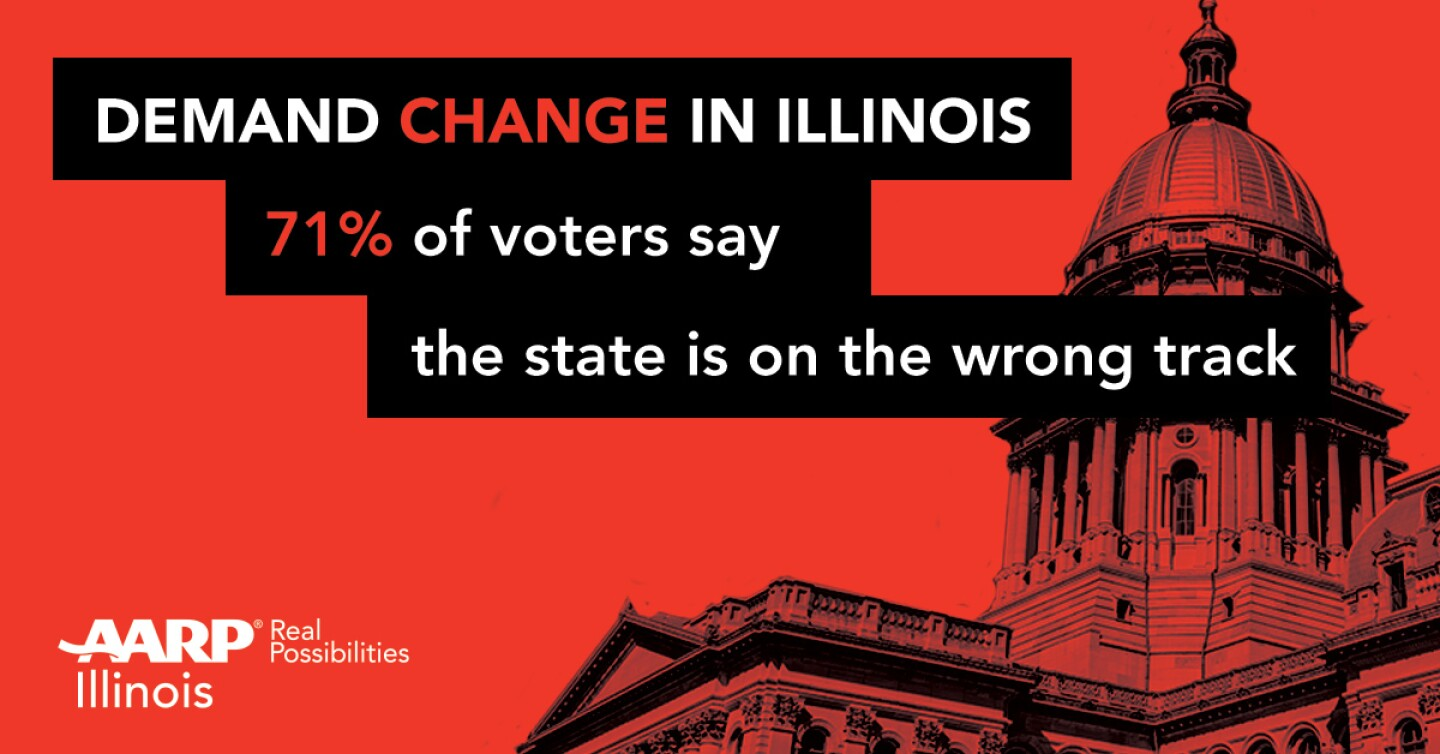 71 pct of voters say IL on wrong track