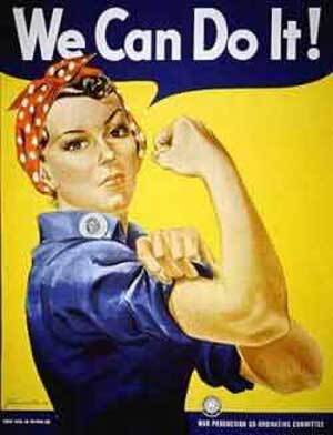 Rosie the Riveter Poster designed by J. Howard Miller