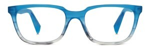 Warby Parker Wilder frames in Squall Blue Fade