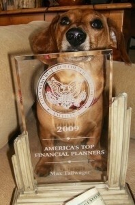 Max Tailwag'er - America's Top Financial Planner