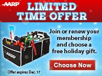 Join or renew today and receive a free trunk organizer or travel bag.