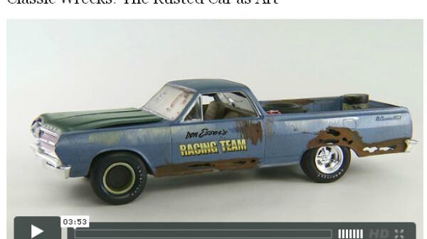 Classic Wrecks: The Rusted Car as Art