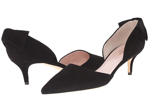 Kate Spade Suede Bow