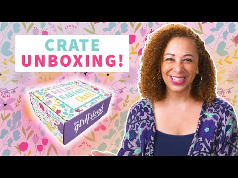 Relax & Radiate Crate - Summer 2021 Crate Unboxing