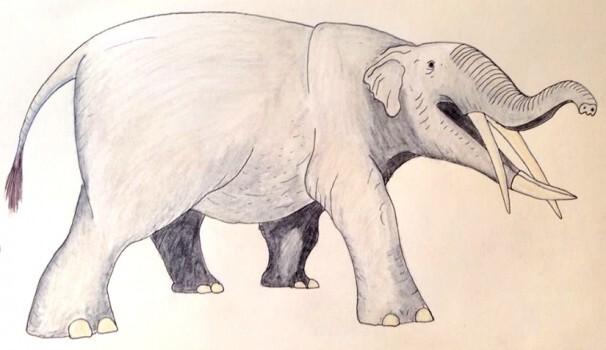Gomphotherium - Elephant-like creature