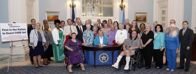 CARE Act Signing