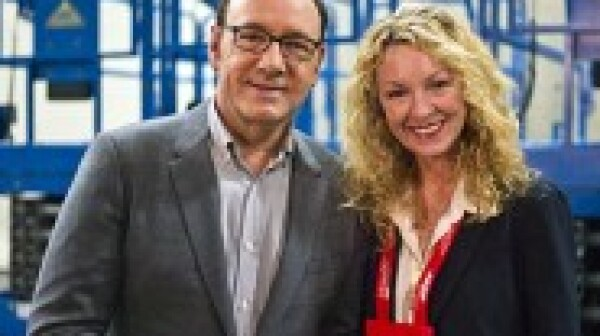 Barbara with Kevin Spacey