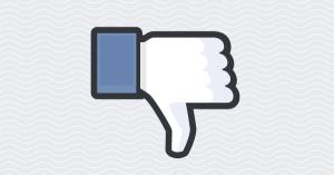 Facebook 'dislike'