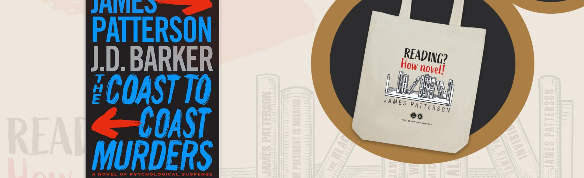 The Coast-to-Coast Murders by James Patterson Giveaway Image
