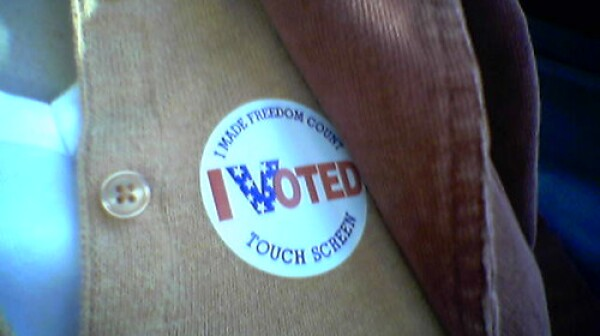 Electronic voting scares Me.