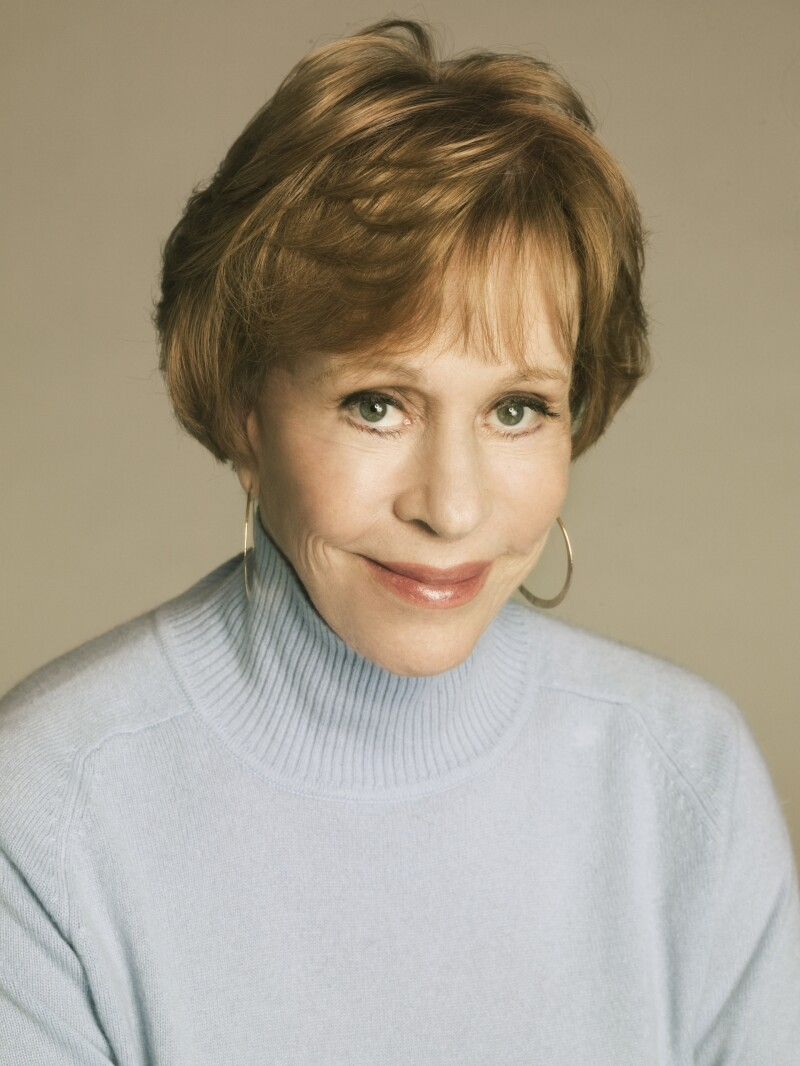 Carol Burnett author photo - copyright 2010 Mabel Cat Inc.  Photographer  Randee St. Nicholas