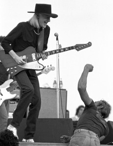 Johnny Winter at Woodstock Reunion 1979