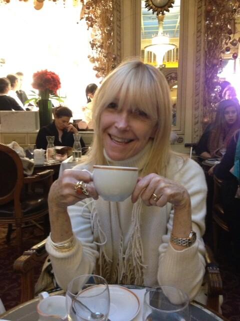 Lois Joy Johnson in Paris