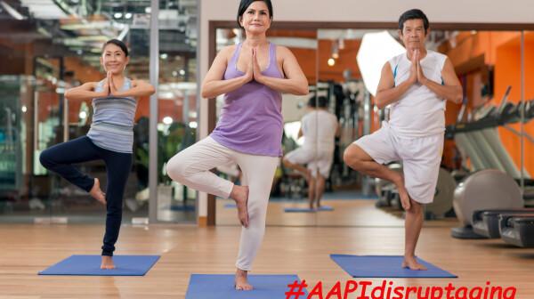 #AAPIdisruptaging AAPI disrupt aging