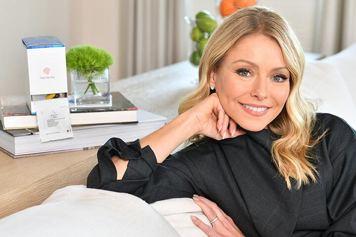 Kelly Ripa Announces New Role as Persona™ Nutrition's Celebrity Brand Ambassador on February 19, 2020 in New York City.