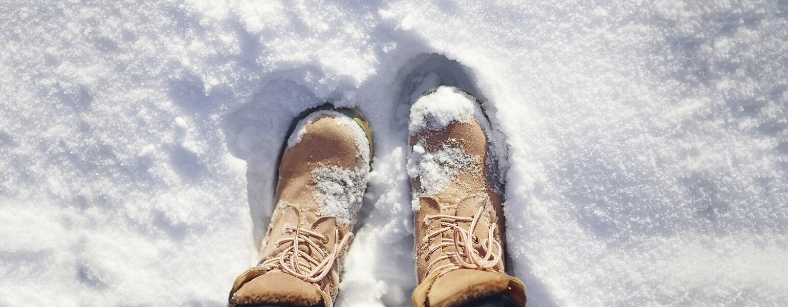 maintain your winter feet