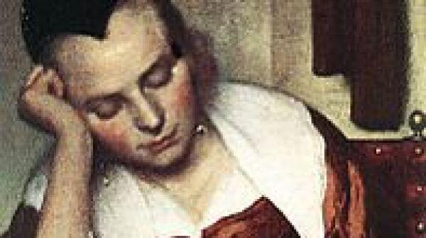 Vermeer - Woman Asleep at Table