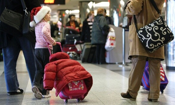 Holiday Travel Hits Full Stride