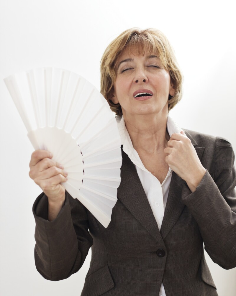 Businesswoman in Menopause
