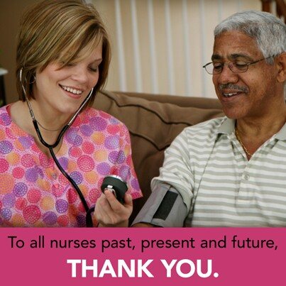 Nurse Thank You Graphic