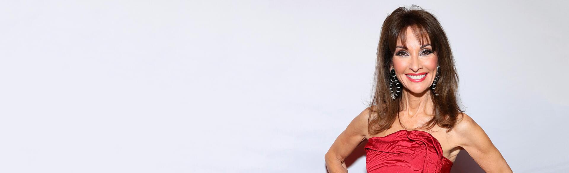 Susan Lucci at the american heart association's Go Red For Women Red Dress Collection 2019