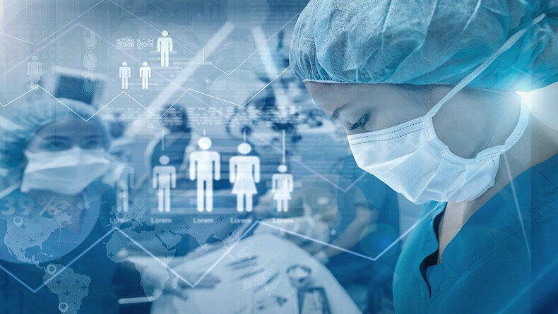 Healthcare workers working to fight the COVID-19 pandemic